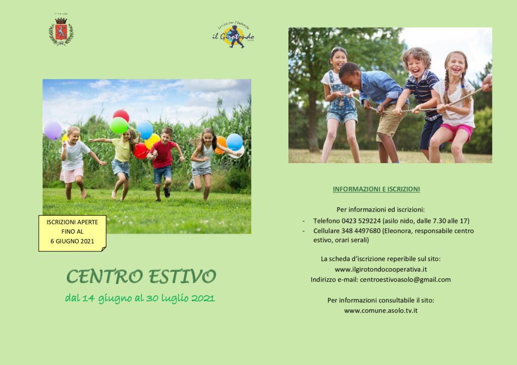thumbnail of Locandina Centro Estivo 2021-min